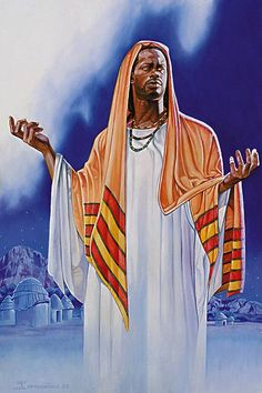 African American Artwork, American Artists, African Art, Religious Images, Religious Art, Black Art Pictures, Black Jesus Pictures, Blacks In The Bible, Image Jesus