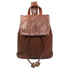 Cheap bag pad, Buy Quality bag bag directly from China bag envelope Suppliers: Genuine Leather Women Backpack Brown/Balck Color Weaving Leather School Bags Cowboy Girl Travel bag  #K0003welcome