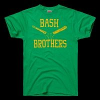 """The late 1980s saw a power surge in Oakland #Athletics—with Rookies of the Year Jose Canseco ('86) and Mark McGwire ('87) providing the clout, the A's won four AL West titles, three AL pennants and a World Series. The two sluggers became known as """"The Bash Brothers"""" for not only their power, but the way they'd bash forearms when congratulating each other after a home run."""