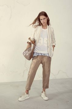 Brunello Cucinelli Spring 2017 Ready-to-Wear Collection Photos - Vogue