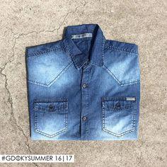A camisa jeans deixa o visual sofisticado e descontraído! Gdoky Jeans: A melhor escolha sempre ;) #Aposte #Gdokyjeans #Bestdenim