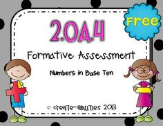 FREE Addition with Arrays Formative Assessment for 2nd Gra