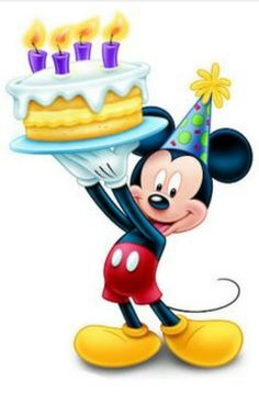 happy birthday from mickey amp minnie happy birthday quotes Mickey Mouse Y Amigos, Minnie Y Mickey Mouse, Mickey Party, Mickey Mouse And Friends, Mickey Mouse Pictures, Happy Birthday Mickey Mouse, Happy Birthday Elephant, Happy 2nd Birthday, Image Mickey