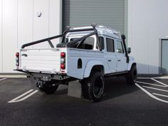 Land Rover Defender 130 Double Cab PickUp TDCi [2.2] Over Land Polar Edition Pick Up Diesel White