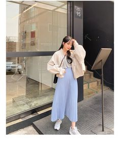 2000s Fashion, Fashion Outfits, Womens Fashion, Church Outfits, Aesthetic Clothes, Korean Fashion, Dress Skirt, Cute Outfits, Islam