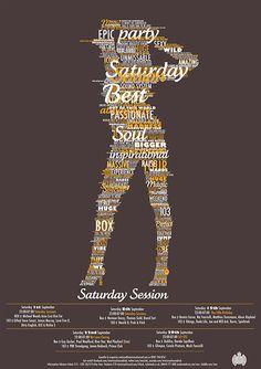 Fresh Typography Poster Designs