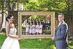 So cute! Doing this when I get married if ever. Also cute for new extended families with all the kids in background