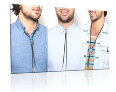 3 zones, areas, ways to wear a bolo tie. Up and tight, loose and open shirt, or down. Works for men, women, and trans.