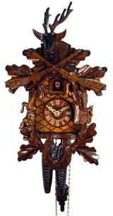 Relógio de Cuco<br>Peça de caça antiga