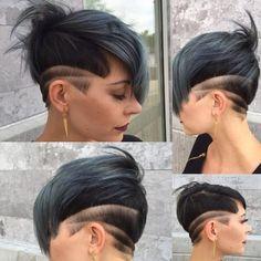 Damen neue Haarmodelle