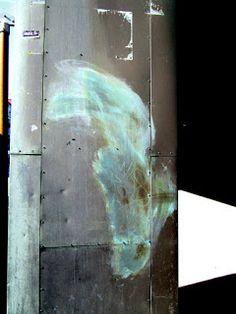 Satu Ylävaara Portfolio : Voiko miltei puhdistetusta töherryksestä muodostua kaunis kuva, hevosen pää tai Afrikan kartta?