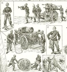 Antique fire fighter art print from 1922 for firefighter wall art. Vintage firetruck decor for fire department. Old fire truck decor office - French Vintage Prints Antique Prints, Vintage Prints, Best Car Insurance, Steampunk, Free Prints, Fire Department, Fire Trucks, Firefighter, Images