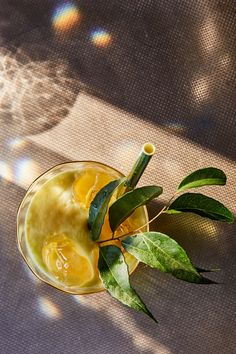 The category of drinks known as mules is distinguished by the inclusion of ginger beer, usually combined with a spirit. Here, there's no alcohol: Instead, the ginger beer is mixed with a rich, spicy syrup and coconut milk. (Photo: Gentl and Hyers for The New York Times)