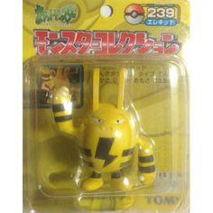 "Pokemon 2004 Elekid Tomy 2"" Monster Collection Plastic Figure #239"
