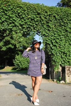 LovePlayingDressup, stripes, zara, striped dress, summer style, Boston