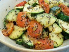 Stufato di zucchine alla cassola