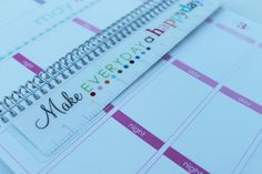 The best and most stylish planner! Key for organization!