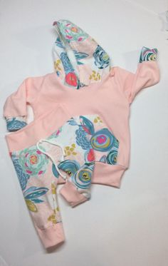 Baby girl clothes / baby girl take home outfit / by Peekarookid