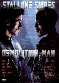 Demolition Man - Hilarious, typically eighties & one of my favourite movies ever! #cinema #movie