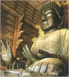 Birushana (Rushana) Buddha - Big Buddha of Nara, Todai-ji Temple Nara, Todai-ji Temple, Buddhist Temple, Thailand Travel, Japan Travel, Great Places, Places Ive Been, Photo Dictionary, Japanese Buddhism
