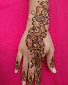 Kashee's Mehndi Designs, Latest Arabic Mehndi Designs, Back Hand Mehndi Designs, Mehndi Designs For Beginners, Mehndi Design Photos, Mehndi Designs For Fingers, Beautiful Mehndi Design, Arabian Mehndi Design, Rajasthani Mehndi Designs