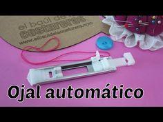Materiales y accesorios para confeccionar ojal a máquina - YouTube