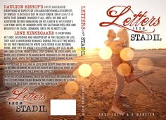 """*..HEA Bookshelf..*: Cover Reveal: """"Letters to Stadil"""" by Anne Jolin and K Webster"""