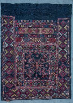 Antique ricamo armeno di Marash, 19 c.  Marash era una delle città più prospere e ricche del regno armeno di Cilicia.