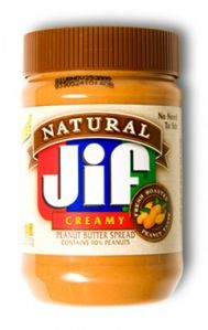 1 tbsp natural peanut butter - everyday :)