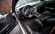 08-14 Dodge Challenger Carbon Fiber Outer Shifter Plate Overlay