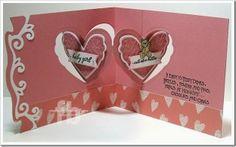 Frances Byrne using the Pop it Ups Heart Pivot Card and Agatha Edges by Karen Burniston for Elizabeth Craft Designs - BabyHeartPivot2-wm