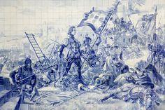Foi há 600 anos! O dia em que Portugal deu o salto para o mundo. A batalha em Ceuta nos azulejos de Jorge Colaço instalados na Estação de São Bento, no Porto Diogo Baptista