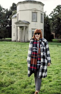 Plaid pieces for winter