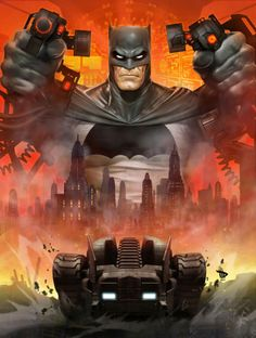 Batman by Dave Wilkins - Batman Poster - Trending Batman Poster. - Batman by Dave Wilkins Batman The Dark Knight, Batman Dark, Joker Batman, Batman Robin, Spiderman, Batman Batmobile, Batman Poster, Batman Artwork, Batman Wallpaper
