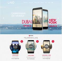 LAIQ lança campanha de verão para os smartphones Dubai e New York,