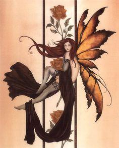 Fairy Art Amy Brown Amber Rose III
