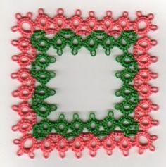 Tat-a-Renda Patterns: Facing Rings Edging with a Corner Added