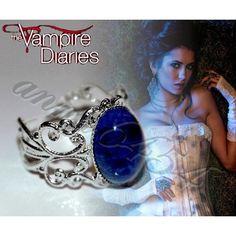 Vampire Diaries - Katherine Pierce - Lapis Lazuli - protection lapis... ($14) ❤ liked on Polyvore