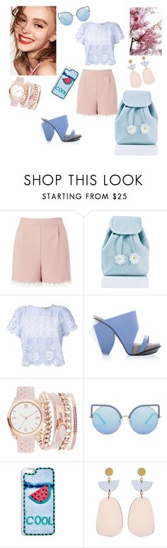 """Cute outfit"" by lera-chiperi on Polyvore featuring мода, Naomi Campbell, Miss Selfridge, Sugarbaby, Sea, New York, Abcense, A.X.N.Y., Matthew Williamson, BaubleBar и Isabel Marant"
