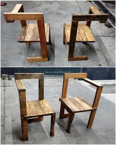 Have you ever seen a chair of this design in the market? I also saw this first time while gathering the wood pallet restyling ideas because it is created by a creative person and it is a perfect idea to copy if the person wants to decorate his/her home with the innovative furniture.