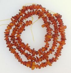 Baltic Amber 3 mm X 5 mm Pebble All Natural Loose Beads 16 inch strand Amber Ring, Gems And Minerals, Baltic Amber, Natural Wonders, Gemstone Colors, Jewelry Watches, Beaded Necklace, Turquoise, Gemstones