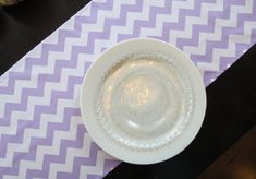 Lavender and White Chevron Table Runner by ShopLili on Etsy Chevron Table Runners, Beach Wedding Decorations, Zig Zag Pattern, Color Pop, Lavender, Great Gifts, Lily, Etsy Handmade, Baby Shower