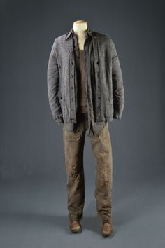 """Jennifer Lawrence, """"Hunger Games"""" (Boy w/ the bread scene), Lions Gate, 2012, Designed by Judianna Makovsky, The Collection of Motion Picture Costume Design: Larry McQueen"""