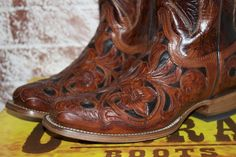 Brown Corral cowboy boots