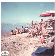 La #spiaggia del Villaggio Turistico Internazionale..oggi come allora #vacanze in #famiglia! *** VTI's #beach...now as then your #family #holidays!