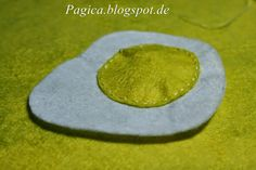 Play Food Felt Egg Tutorial in Pictures  Essen zum Spielen aus Filz Ei Spiegelei -Tutorial / Anleitung in Bildern