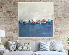 Abstract Painting Giclee Print Modern Art Contemporary by Artzaro