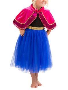 Frozen Princess Anna Dress - Tulle skirt