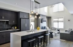Discover the Uniform Developments difference in sophisticated #townhomes designed with character by Barry J Hobin and Associates #Architects and AVAILABLE NOW at The Orchard in #Barrhaven.