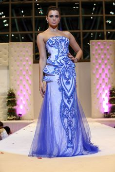Evening dress jakarta expo